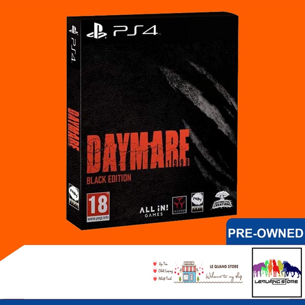Đĩa Game PS4: Daymare: 1998 Black Edition