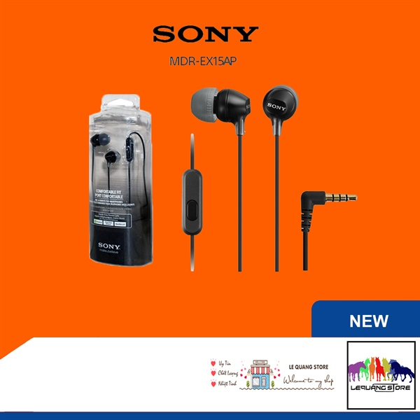 Tai nghe sony MDR-EX15AP
