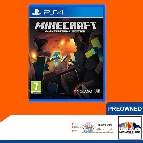 Đĩa Game PS4: Minecraft: PlayStation 4 Edition