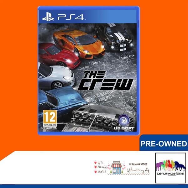 Đĩa Game PS4: The Crew