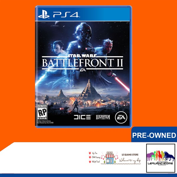 Đĩa Game PS4: Star Wars Battlefront 2