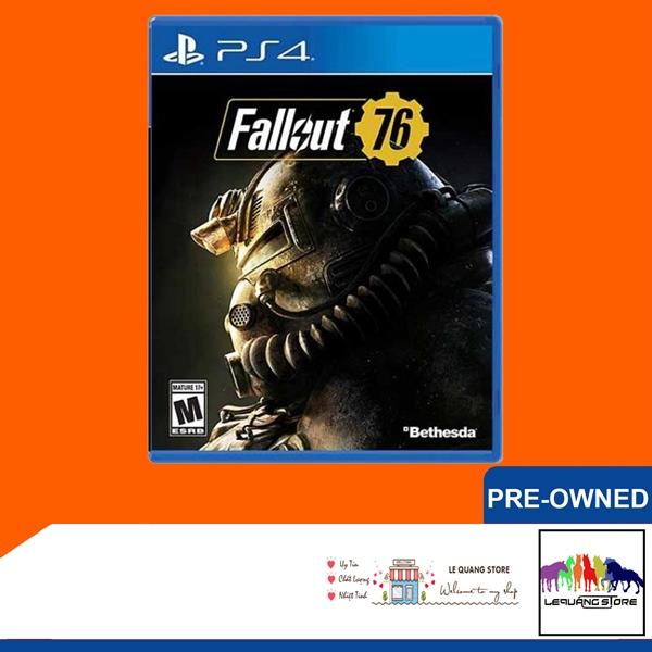 Đĩa Game PS4: Fallout 76