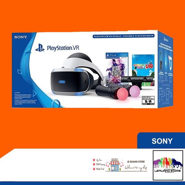 Kính thực tế ảo PS VR version 2 (Bundle 2) - Hàng Order