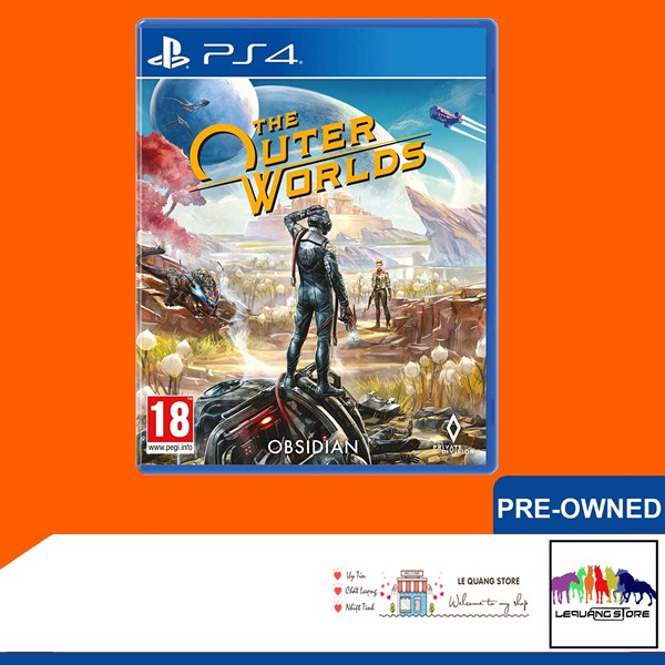 Đĩa Game PS4: The Outer Worlds
