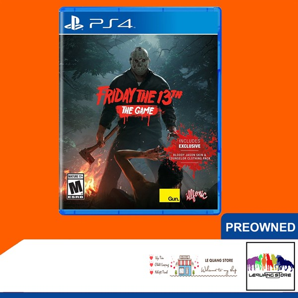 Đĩa Game PS4: Friday the 13th: The Game