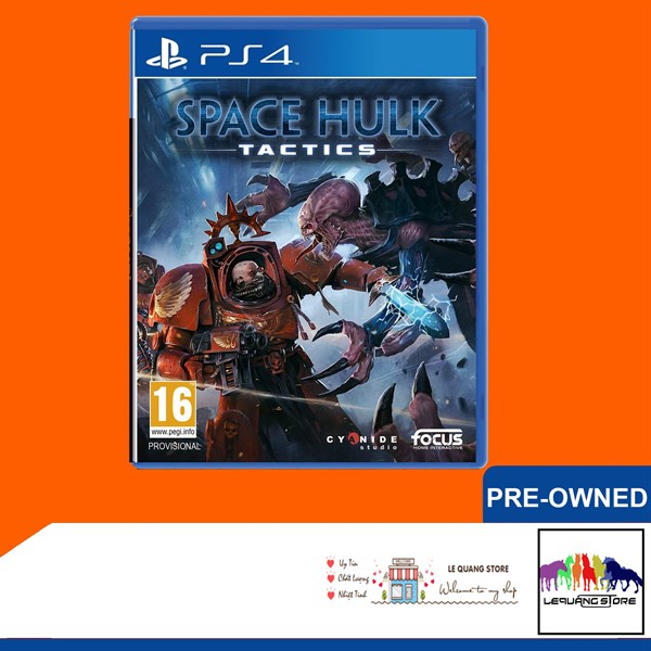 Đĩa Game PS4: Warhammer 40,000: Space Hulk: Tactics