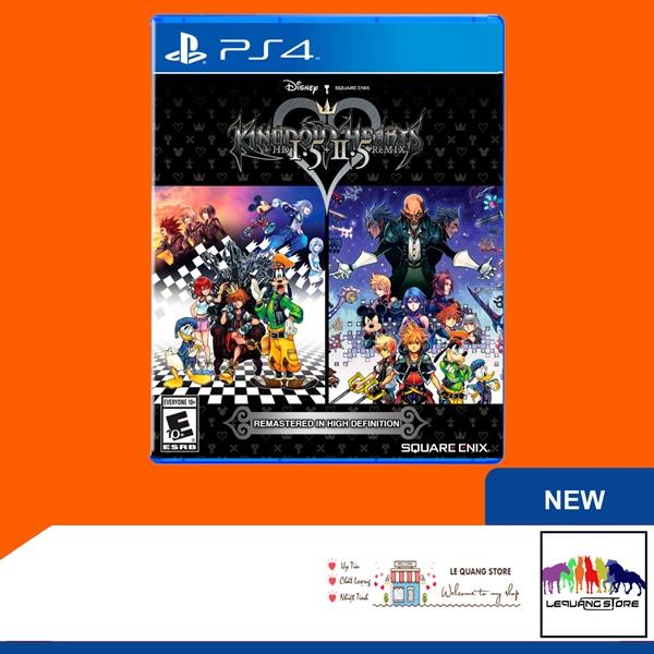 Đĩa Game PS4: Kingdom Hearts HD 1.5 + 2.5 Remix