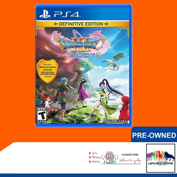 Đĩa Game PS4: DRAGON QUEST 11 S: Echoes of an Elusive Age – Definitive Edition