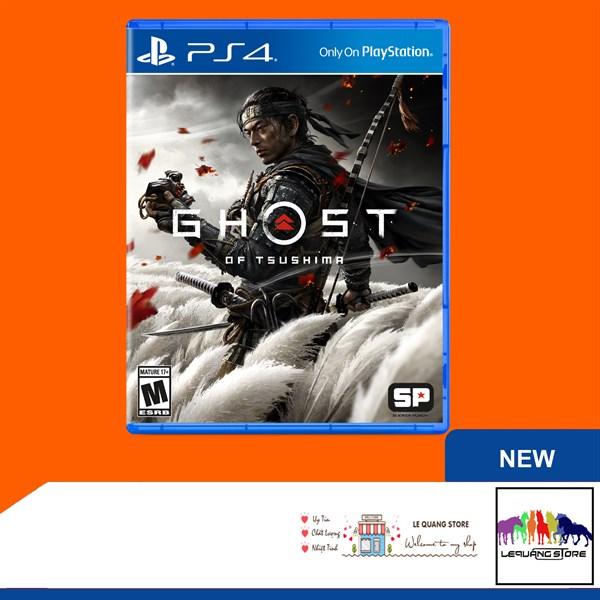 Đĩa Game PS4: Ghost of Tsushima