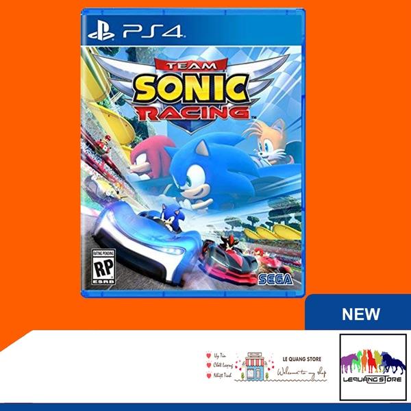 Đĩa Game PS4: Team Sonic Racing