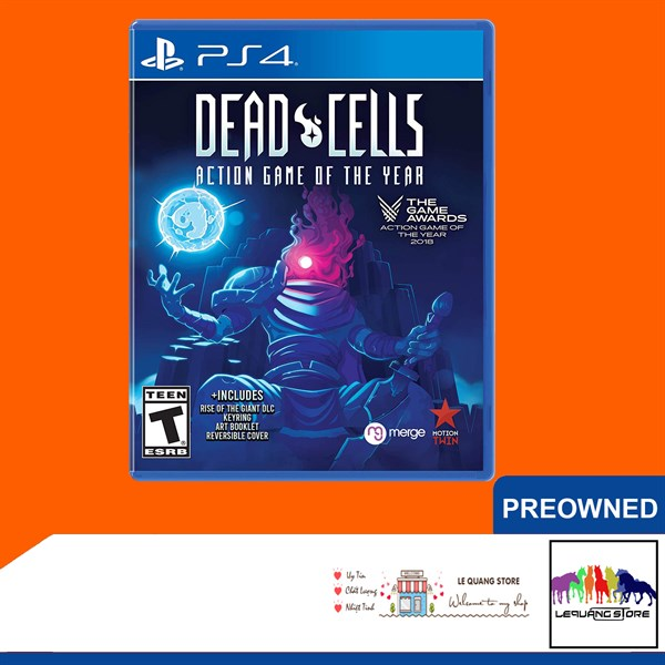 Đĩa Game PS4: Dead Cells (Action Game of the Year)