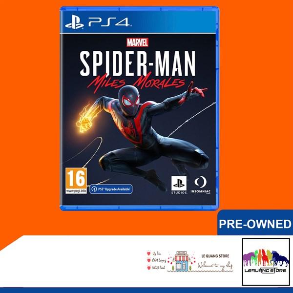 Đĩa game PS4: Marvel's Spider-Man: Miles Morales