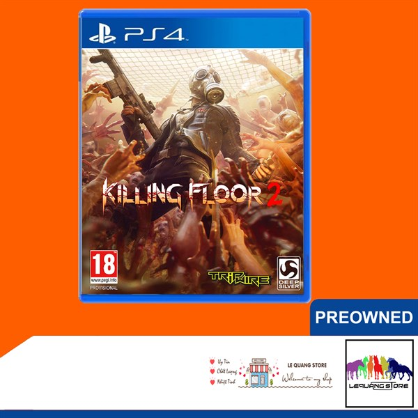 Đĩa Game PS4: Killing Floor 2
