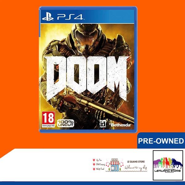 Đĩa Game PS4: Doom