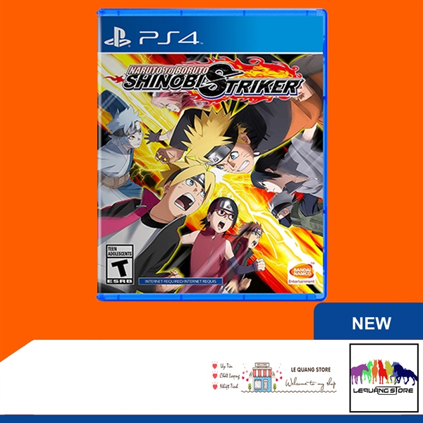 Đĩa Game PS4: Naruto To Boruto Shinobi Striker