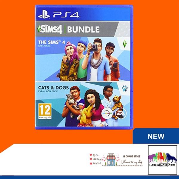 Đĩa Game PS4: The Sims 4 Bundle