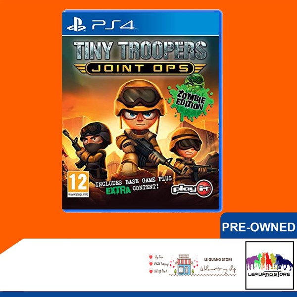 Đĩa Game PS4: Tiny Troopers: Joint Ops