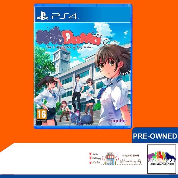 Đĩa Game PS4: Kotodama: The 7 Mysteries of Fujisawa
