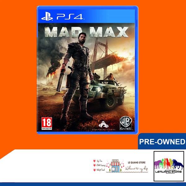 Đĩa Game PS4: Mad Max