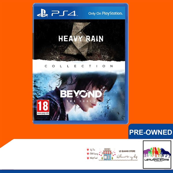 Đĩa Game PS4: The Heavy Rain™ & BEYOND: Two Souls™ Collection