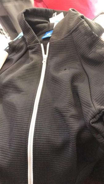 Áo adidas zip hoodie khóa trắng