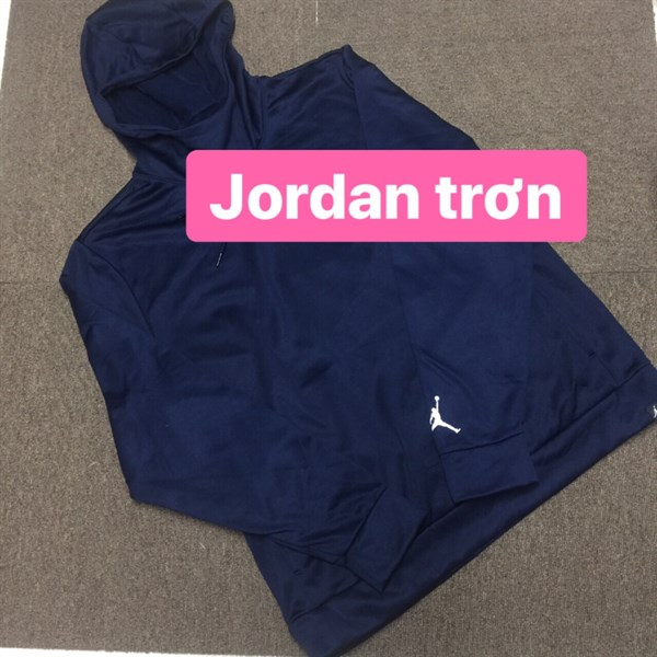 Áo hoodie Jordan trơn