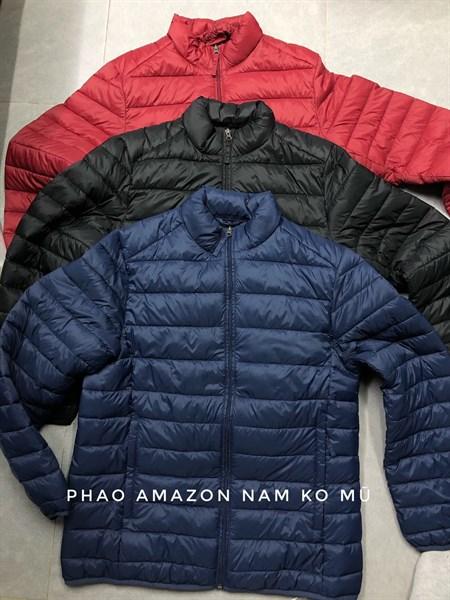 Áo phao Amazon nam ko mũ