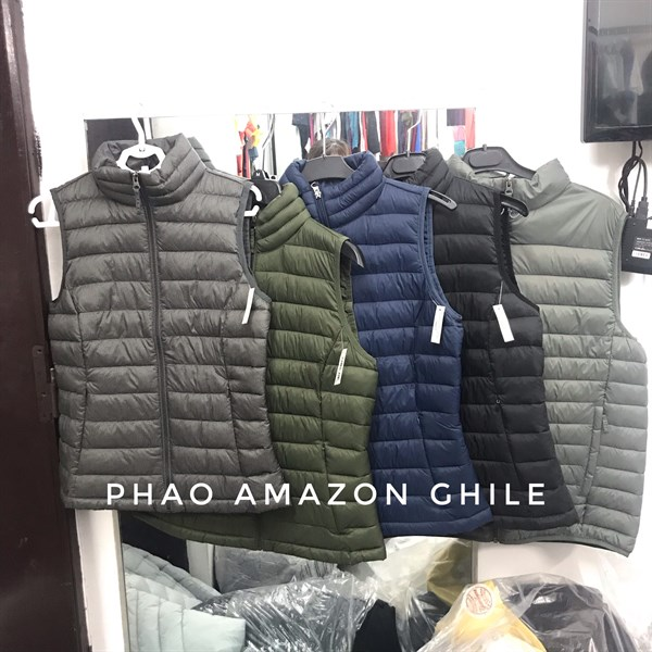 Áo ghile phao Amazon