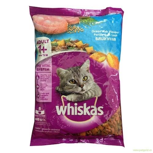 CS thức ăn Whiskas 400g