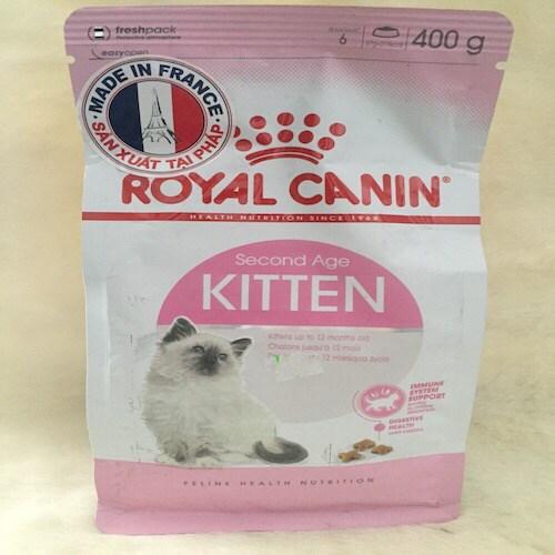 Thức ăn royal kitten 36 (400gr)