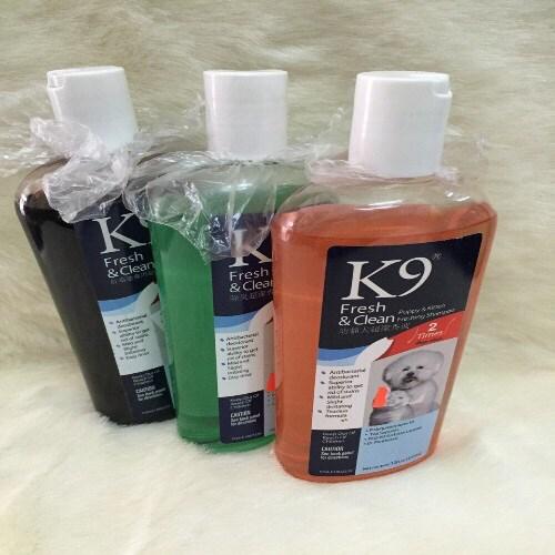 LH dầu tắm K9