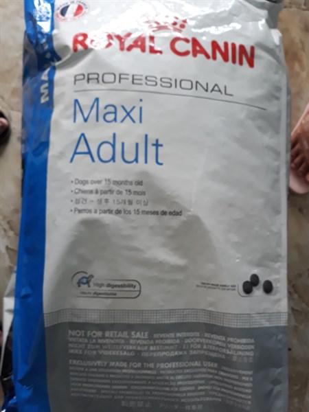 CS thức ăn royal maxi adult