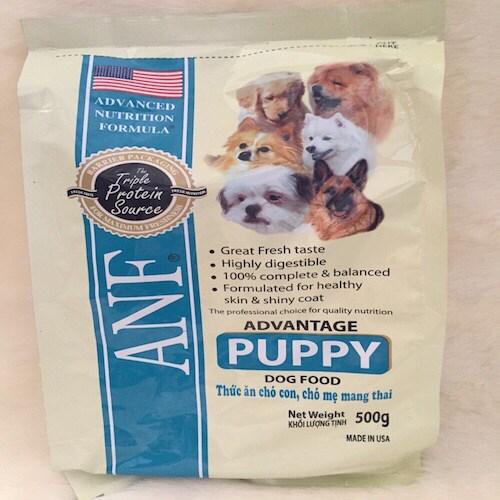 CS thức ăn ANF pupy (500g)