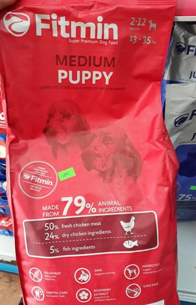 MQ Thức ăn Fitmin medium puppy (3 kg)