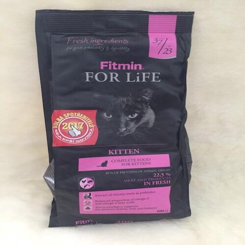 MQ Fitmin mèo kitten 400g