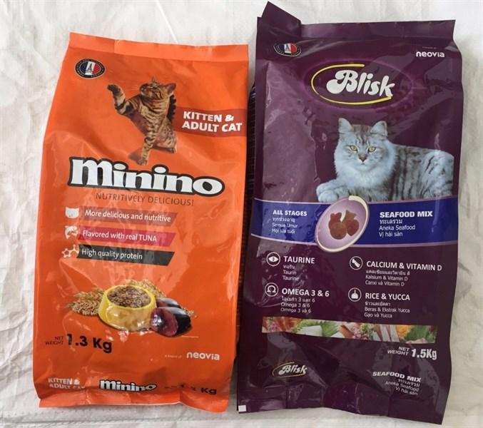 CS Thức ăn Minino 1,3kg