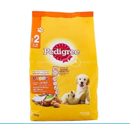 CS thức ăn pedigree puppy