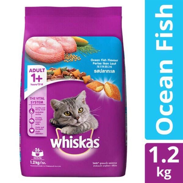 Whiskas - Thức ăn cho mèo trưởng thành 1,2kg