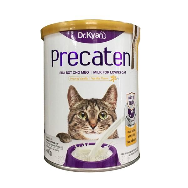 Sữa Bột cho Mèo Precaten - Lon 400g