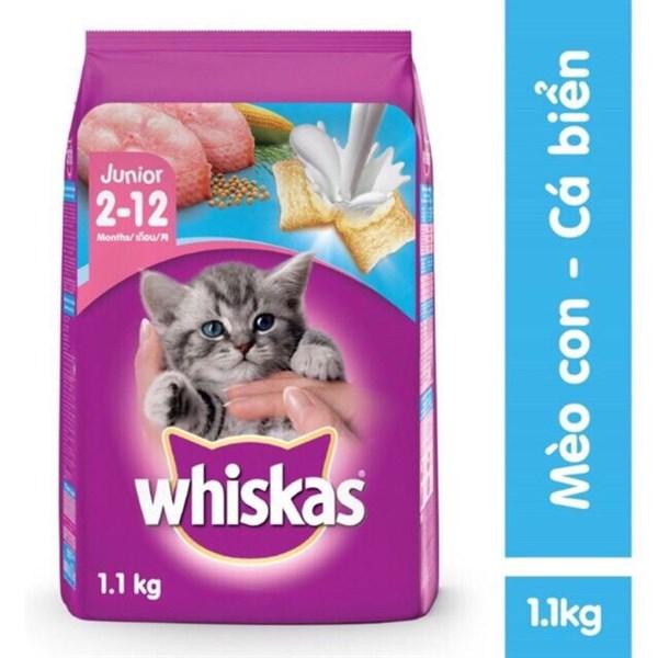 Whiskas - Thức ăn cho MÈO CON 1.1kg