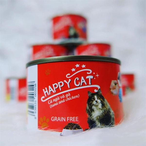 Pate Happy Cat - 160g