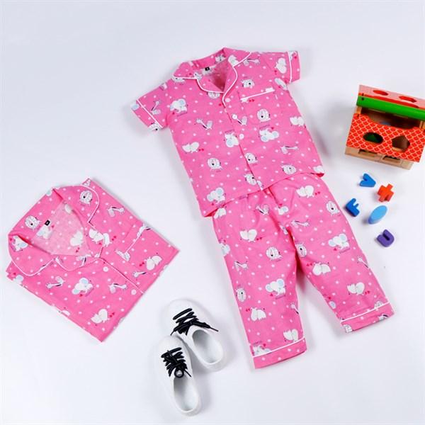 Pyjama Dài Hồng Thú - PD019.3 - MS20.130.10