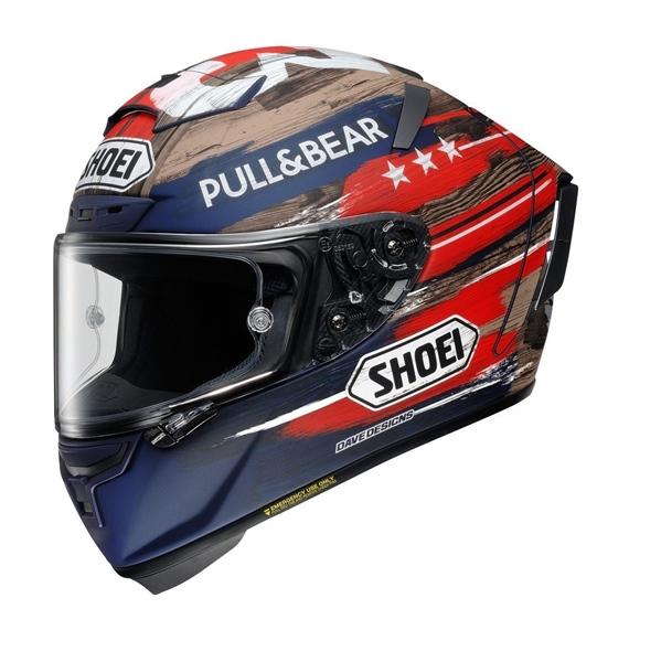 Mũ Bảo Hiểm Shoei X-14 America