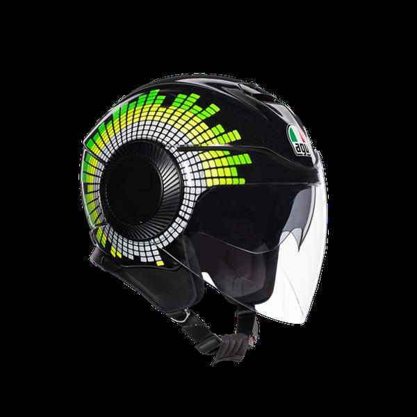 Mũ Bảo Hiểm AGV Orbyt Ginza Black