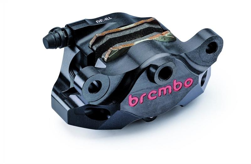 Heo Brembo - Black Billet CNC Rear Caliper, 84mm Spacing