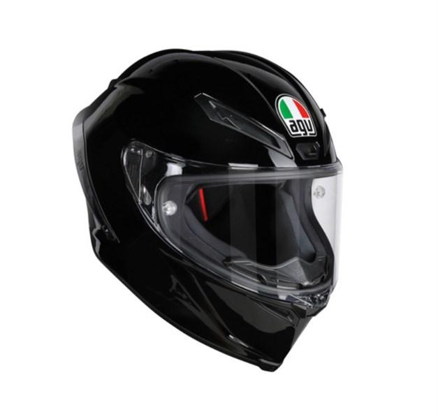 AGV CORSA R MONO ECE DOT - BLACK
