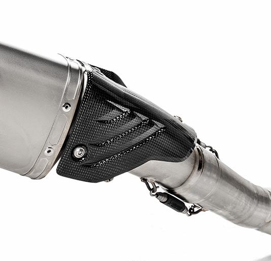 Ốp Pô Akrapovic Carbon cho Pô Full BMW S1000RR 2020