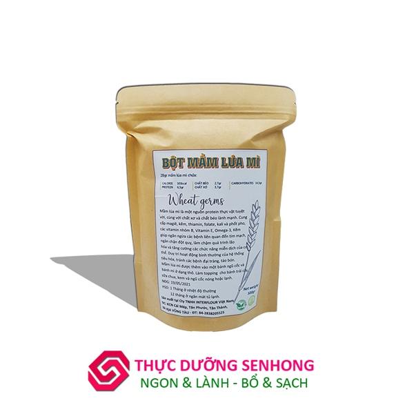 Bột mầm lúa mì   Wheat germ flour (500gr) dinh dưỡng cho người ăn chay, ăn kiêng, tiểu đường