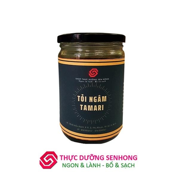 Tỏi ngâm tương tamari 9 năm - Thực dưỡng Sen Hồng