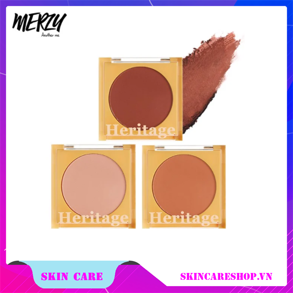 Phấn Má Hồng Merzy The Heritage Blusher #BL1 BABY NEAUTRAL